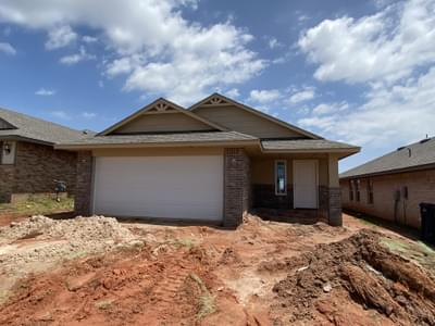 New Home for Sale in Oklahoma City, 4628 Tsavo Way