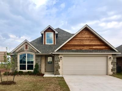 New Home for Sale in Edmond, 16033 Iron Tree Lane