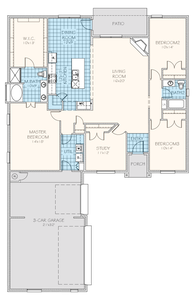Brookside Elite New Home Floor Plan