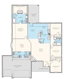 2,433sf New Home in Jenks, OK