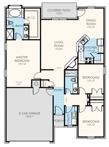 1,543sf New Home