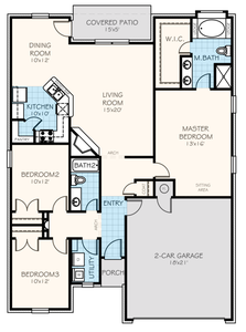 Adams Elite Home with 3 Bedrooms