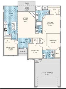 4br New Home in Broken Arrow, OK
