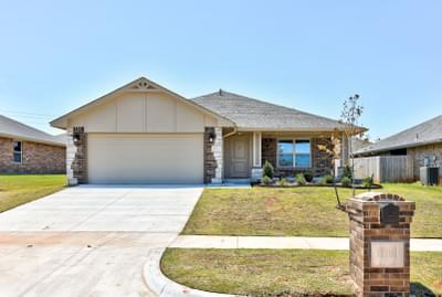 11108 NW 97th Street Yukon OK new home for sale