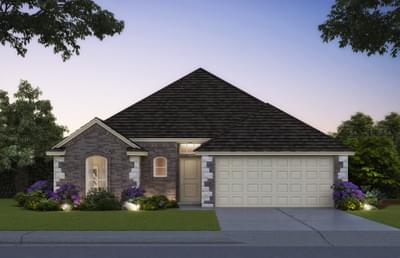 The Andrew Elite - 3 bedroom new home in Midwest City OK