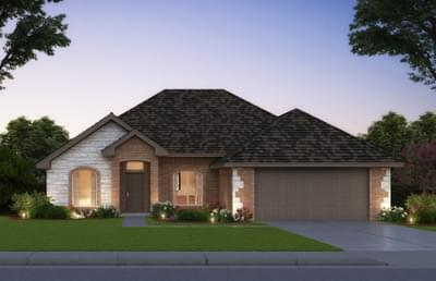The Brooke Elite - 3 bedroom new home in Midwest City OK