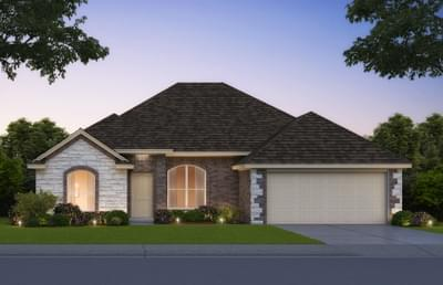 The Lockard Elite - 4 bedroom new home in Midwest City OK