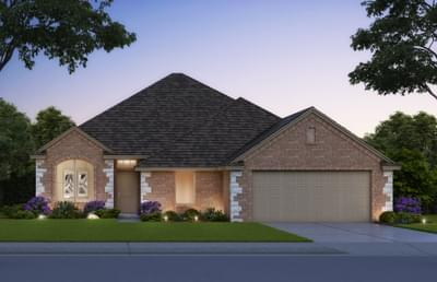 Newport Elite New Home in Midwest City, OK