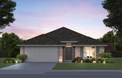 Taylor New Home Floor Plan Elevation A