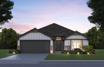 Taylor New Home Floor Plan Elevation B