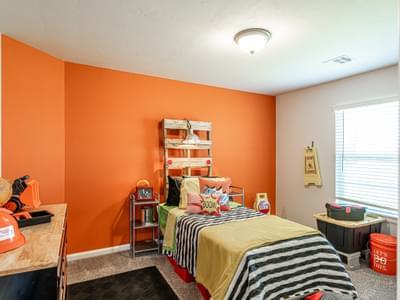 Bedroom. Castleberry New Homes in Edmond, OK