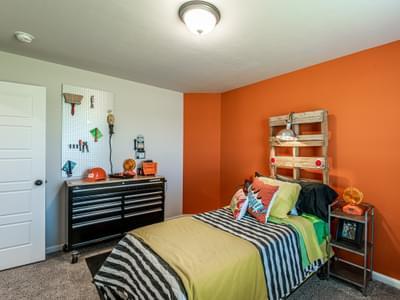 Bedroom. New Homes in Edmond, OK
