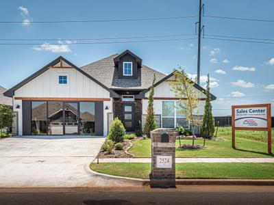 Front. New Homes in Edmond, OK