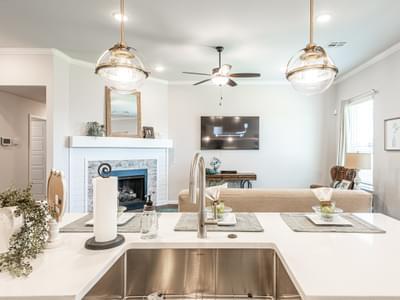 Kitchen. Castleberry New Homes in Edmond, OK