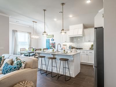 Kitchen. New Homes in Edmond, OK