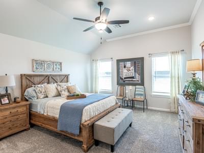 Master Bedroom. Edmond, OK New Homes