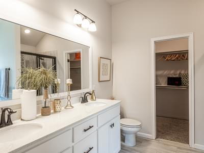 Master Bathroom. New Homes in Edmond, OK