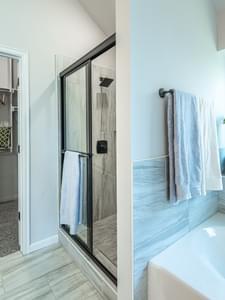 Master Bathroom. Edmond, OK New Homes