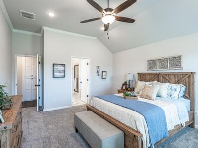 Master Bedroom. Castleberry New Homes in Edmond, OK