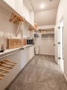 Master Closet. Castleberry New Homes in Edmond, OK