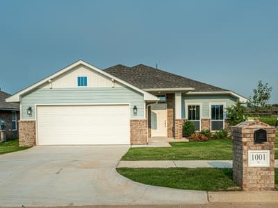 1001 Hickory Creek Drive Yukon OK new home for sale