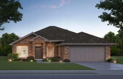 1,722sf New Home Elevation B