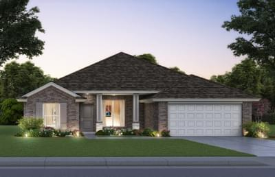 Chelsea New Home Floor Plan Elevation B