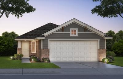 Snapdragon New Home Floor Plan
