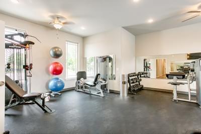 Fitness Center. New Homes in Edmond, OK