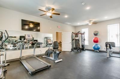 Fitness Center. Edmond, OK New Homes