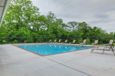 Community Pool. Castleberry New Homes in Edmond, OK