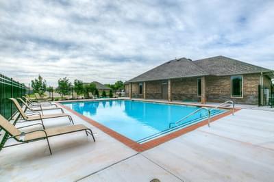Community Pool. Edmond, OK New Homes