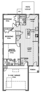 1,270sf New Home in Oklahoma City, OK