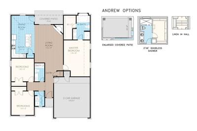 Andrew Plus Elite Home with 3 Bedrooms