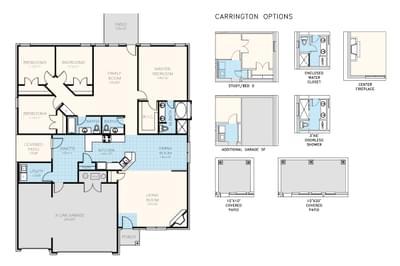 Carrington New Home Floor Plan