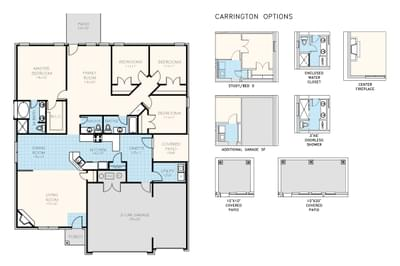 Carrington Home with 4 Bedrooms