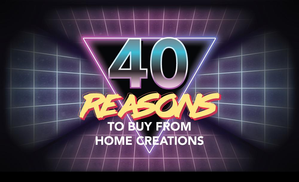 Happy Birthday, Home Creations