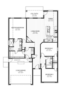 1,701sf New Home in Oklahoma City, OK