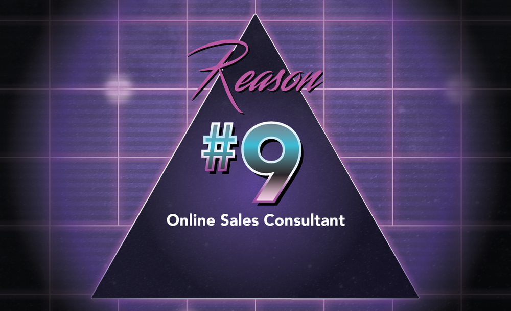 Meet our online sales consultant