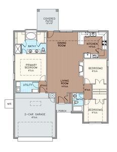 1,556sf New Home in Edmond, OK
