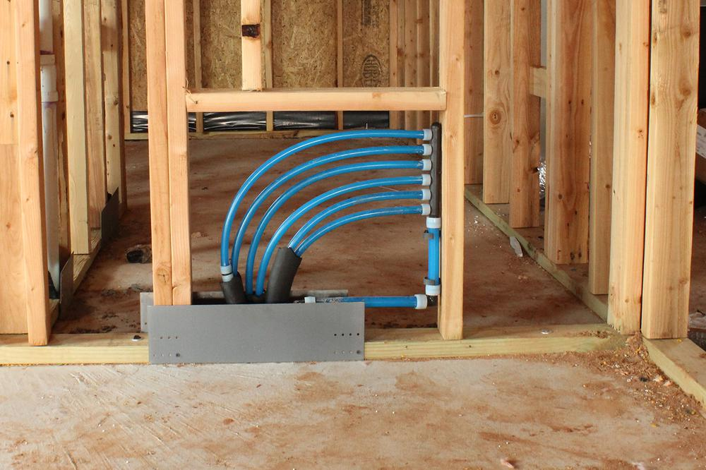 PEX Water System (Uponor PEX pipes)