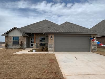 2529 NW 194th Street Edmond OK new home for sale