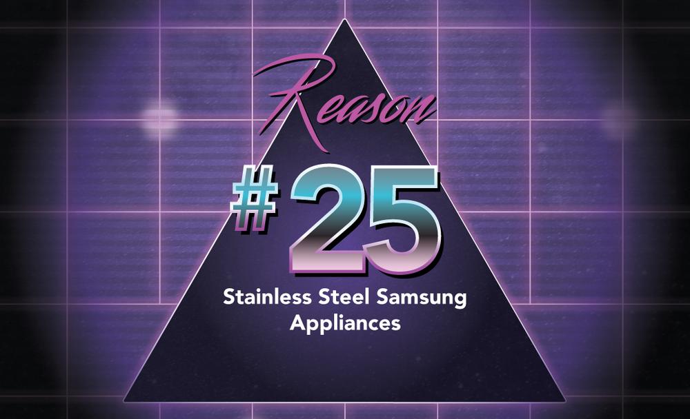 No. 25 - Samsung Appliances