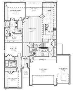 Downstairs. 4229 NW 156th Terrace, Edmond, OK