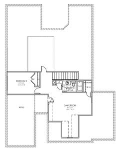 Upstairs. New Home in Edmond, OK