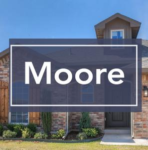 New homes in Moore Oklahoma