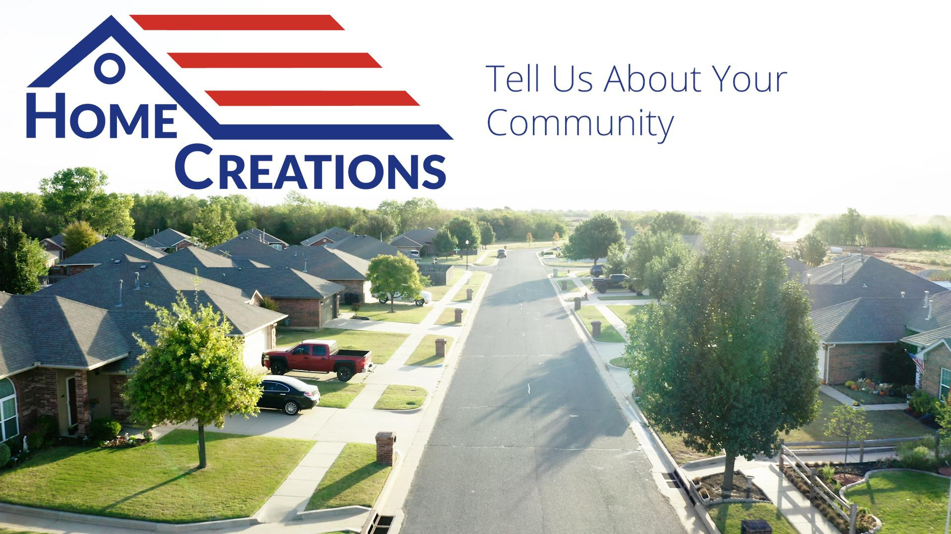Tell Us About Your Community