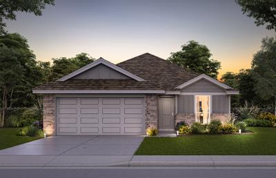 11509 SW 12th Street Yukon OK new home for sale