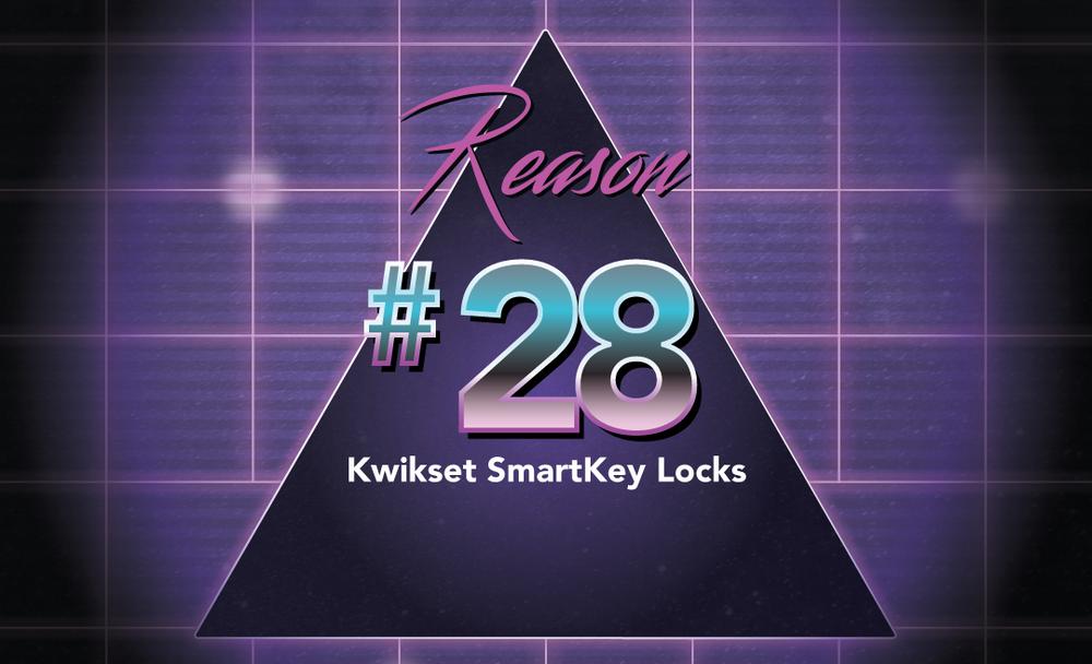 No. 28 Kwikset Locks