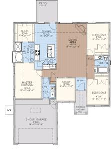1,629sf New Home in Midwest City, OK